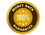 image: our money back guarantee